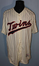 2017 Majestic Minnesota Twins Tony Oliva Spring Training Issued Sewn Jersey 50