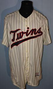 2017 Majestic Minnesota Twins Tony Oliva Spring Training Issued Sewn Jersey 50