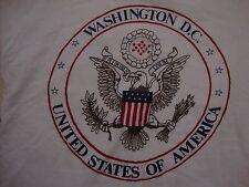 Vintage Washington D.C United States Of America U.S.A Souvenir T Shirt Size M