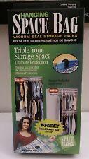 """Hanging Space Bag Vacuum-Seal Storage Large Size 14"""" x 20"""""""