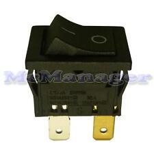 DPST Latching Rocker Switch 12A/250V 13x19mm