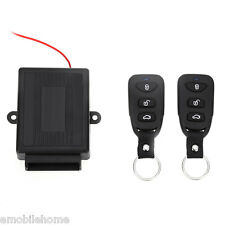 433.92MHz Universal Car Keyless Entry System Vehicle Door Lock Unlock Window Up