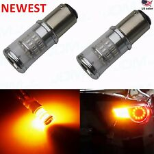 JDM ASTAR 48-SMD 1157 7528 Super Amber 3014 Turn Signal Blinker LED Lights Bulbs