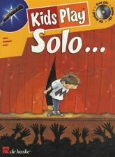 Kids Play Solo for Oboe Sheet Music Book with CD Play-Along