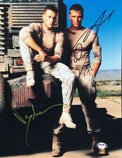 Jean-Claude Van Damme Dolph Lundgren Signed 'Universal Soldier' 11x14 Photo PSA