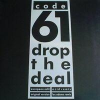 """Code 61 Drop the deal (1988) [Maxi 12""""]"""