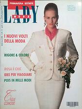 LADY MODA. PRIMAVERA ESTATE N.13 1987