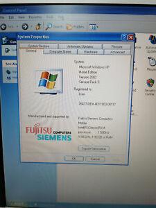 Fujitsu Siemens AMILO Pro V2030 Intel Celeron 1.50GHz 2GB Ram 40GB HDD Window XP