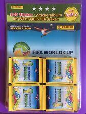 Panini FIFA World Cup WM 2014 Brasil - 100 Tüten + Album Paket Display