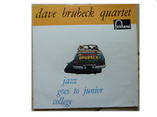 QUARTETTO di Dave Brubeck * JAZZ va a JUNIOR College * VINILE LP FONTANA 682 007 TL