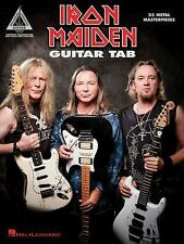 IRON MAIDEN - GUITAR TAB - NEW BOOK