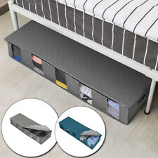 1PC Storage Container Non-Woven Under Bed Clothes Organizer With 5 Sections