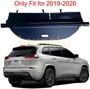 Rear Trunk Security Upgrade Version Cargo Cover Shade For2019 2020 Jeep Cherokee