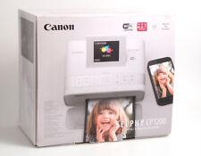 Canon Selphy CP1200 weiß Compact Photo Printer / Kleiner Foto Drucker Airprint