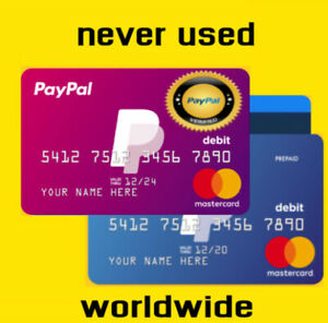 vcc virtual credit card worldwide for verification paypal fast delivery 5min