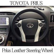 TOYOTA Genuine PRIUS ZVW30 Parts Leather Steering Wheel Black Japan Car