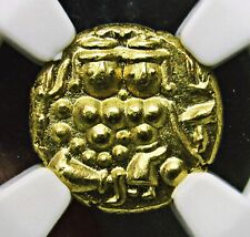 India Mysore, Gold Pagoda NGC MS-66, Superb Details, Lovely Grade, RARE