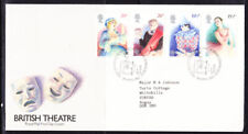 Great Britain 1982 British Theatre First Day Cover - 213b to Angus