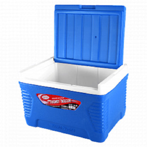 WAGON Max Cold 14 Litre Large Size Camping Cool Box Cooler Chest, RED OR BLUE