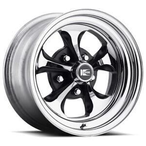 Cragar 1526187402B Series 32 Keystone Klassic Wheel, 15x6 Inch