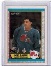 1992 O Pee Chee Anniversary Series Joe Sakic Quebec Nordiques card # 113
