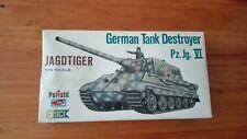 GERMAN TANK  DESTROYER PZ. JG. VI  JAGDTIGER     1/72 SCALE ESCI