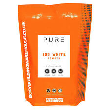 BBW Pure Egg White Powder - 1kg Powder - Unflavoured
