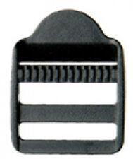 10 Stück Leitersteg 25mm Acetal Schieber Regulator für Gurtband Verstellschieber