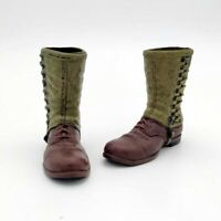 1/6 Ranger Soldier Shoes Army Leggings Boots Model  for 12'' Male Soldier Figure