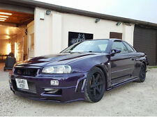 Nissan Skyline R34 GTT  Side SkirtsExtension Spoiler Splitter  RB JZNismo  GTR