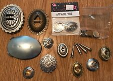 Large Lot Conchos, Earring Making And More