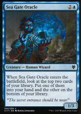 4x Sea Gate Oracle | Presque comme neuf/M | commandant 2017 | magic mtg
