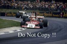 Arturo Merzario Iso Williams British Grand Prix 1974 Photograph