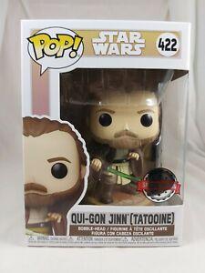 Star Wars Funko Pop - Qui-Gon Jinn (Tatooine) - No. 422