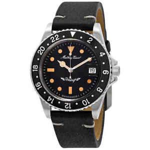 Mathey-Tissot Mathey Vintage Automatic Black Dial Men's Watch H900ATLN