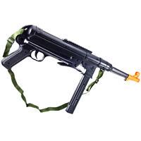 NEW MP40 SPRING ASSAULT SMG WW2 AIRSOFT GREASE GUN RIFLE M3 M40 Sniper BB Pellet