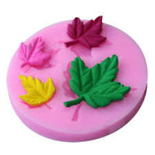 Maple Leaf Silicone Fondant Mold Cupcake Chocolate Decor Baking Tool Moulds _S