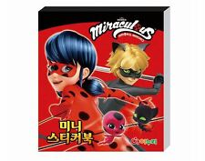 Miraculous Ladybug Mini Sticker Book Collection Animation Kids Toy Gift 24Sheets