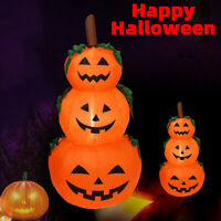 2020 Halloween Airblown Ghost Outdoor Inflatable Pumpkin Decorations Yard Head
