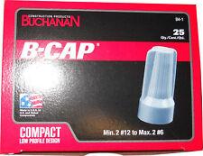 Buchanan B4-1 B-CAP B4 Wire Connector 25 Pack