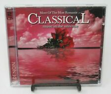 MORE OF THE MOST ROMANTIC CLASSICAL MUSIC IN THE UNIVERSE 2-DISC MUSIC CD SET