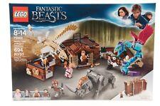 Lego FANTASTIC BEASTS 75952 Newt's Case of Magical Creatures 694 PCS Ages 8 & Up