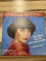 """7"""" Single - MIREILLE MATHIEU - Der Wind hat mir ein Lied erzählt - Ariola 107607"""