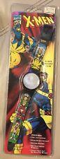 1994 Marvel Comics X-Men Mutant Gear Vintage Wolverine Hologram Watch Mint