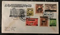 1944 Manila Philippines Japan Occupation First Day Commercial Cover FDC B
