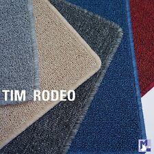 Läufer *TIM RODEO* flacher Schlingen Teppich in 5 Farben, umkettelt Vliesrücken