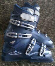 Lange Venus 6 women's 318mm Blue downhill ski boots size 10.5