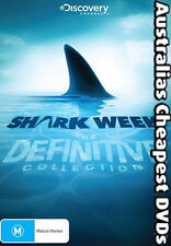 Shark Week - The Definitive Collection DVD NEW, FREE POST IN AUSTRALIA REG 4