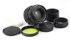 HELIOS 44m F/2 58mm LENS +  MACRO TUBES - SERVICED