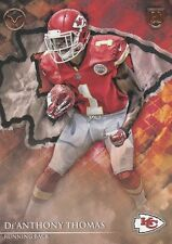 2014 TOPPS VALOR De'ANTHONY THOMAS RB CHIEFS ROOKIE #79